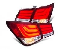 Задние фонари Шевроле Круз 2008-2014 V4 type [Комплект Л+П; светодиодные; светодиодный поворотник]
