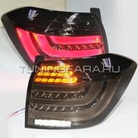 Задние фонари Тойота Хайлендер 2011-2013 V6 Type