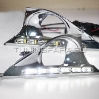 Дневные ходовые огни Тойота Камри V50 2011-2014 V2 type