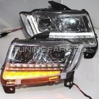 Передние фары Джип Компас 2011-2015 V2 type