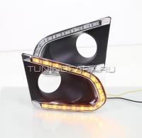 Дневные ходовые огни Шевроле Трекер V2 type