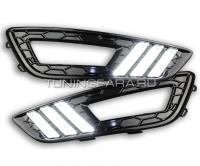 Дневные ходовые огни Форд Фокус 3 2015-2017 V11 Type