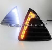 Дневные ходовые огни Форд Фокус 3 V5 Type