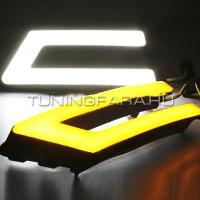 Дневные ходовые огни Форд Фокус 3 V8 Type