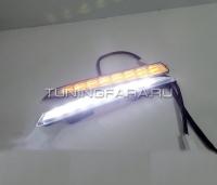 Дневные ходовые огни Форд Куга V8 type