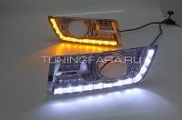 Дневные ходовые огни Кадиллак SRX 2012-2014 V1 Type
