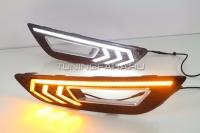 Дневные ходовые огни Форд Фокус 3 2015-2017 V14 Type