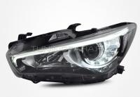 Передние светодиодные фары Инфинити Q50L V1 type