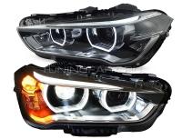 Передние светодиодные фары БМВ Х1 (F48) V4 type
