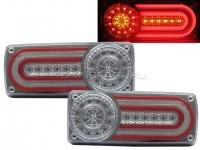 Задние фонари Мерседес Гелендваген W463 [ХРОМИРОВАННЫЕ] V5 Type