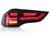 Задние фонари Мицубиси Паджеро Спорт 2010-2014 [ТЕМНО КРАСНЫЕ] V5 type