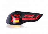 Задние фонари Мицубиси Паджеро Спорт 2010-2014 [ТОНИРОВАННЫЕ] V6 type