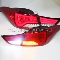 Задние фонари Хендай Элантра 2011-15 V2 type
