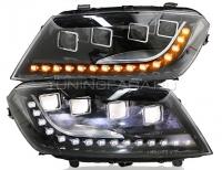 Передние фары Хавал H2 2014-2018 V1 type [Комплект Л+П; ходовые огни; FULL LED; электрокорректор; динамичный светодиодный поворотник]