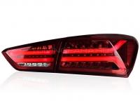 Задние фонари Шевроле Малибу XL 2016-2018 V7 type [Комплект Л+П; светодиодные; бегущий поворотник]