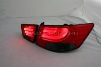 Задние фонари Киа Церато 2009-2013 V4 type [Комплект Л+П; светодиодные]