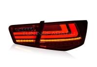 Задние фонари Киа Церато 2009-2013 V5 type  [Комплект Л+П; светодиодные; бегущий поворотник]