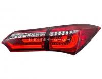 Задние фонари Тойота Королла Е160 V8 type