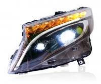 Передние фары Мерседес Вито W447 FULL LED V2 type
